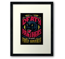 Death Panther Framed Print