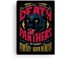 Death Panther Canvas Print