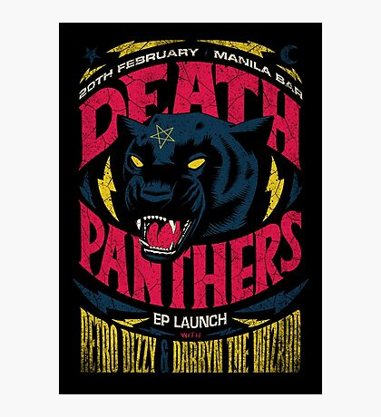 Death Panther Photographic Print