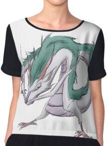 Dragon Haku  Chiffon Top
