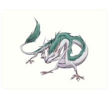 Dragon Haku  Art Print