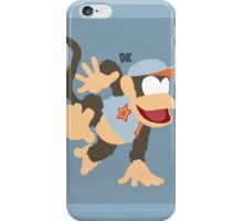 Diddy Kong (Light Blue) - Super Smash Bros. iPhone Case/Skin