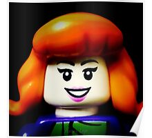 Lego Daphne from Scooby Doo Poster