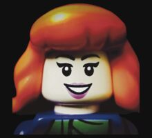 Lego Daphne from Scooby Doo Kids Tee