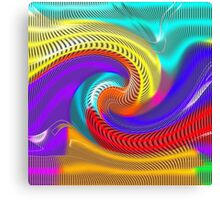 Psychedelic Rainbow Canvas Print