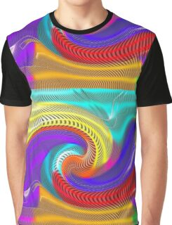 Psychedelic Rainbow Graphic T-Shirt