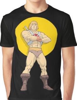He - Man Graphic T-Shirt
