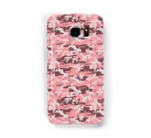 Military Camouflage Pattern - Pink Brown Gray  Samsung Galaxy Case/Skin