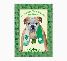 Bull Dog St. Patty's Day Unisex T-Shirt