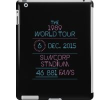 6th December - Suncorp Stadium iPad Case/Skin