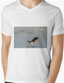 Lotusbird Flight Mens V-Neck T-Shirt