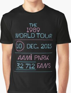 10th December - AAMI Park Graphic T-Shirt