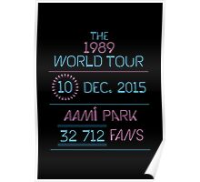 10th December - AAMI Park Poster