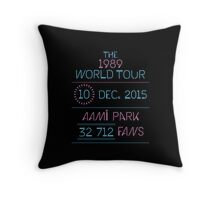 10th December - AAMI Park Throw Pillow
