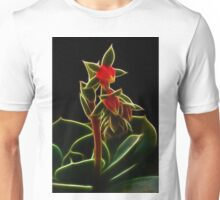 Wild Fractal Buds Of Chaos Unisex T-Shirt