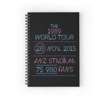 28th november - Anz Stadium Spiral Notebook