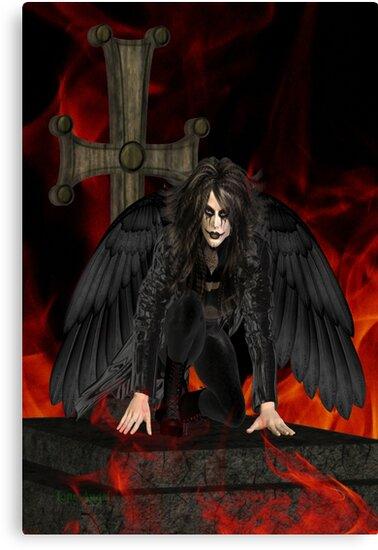 Dark Angel .. the vampires reaper by LoneAngel