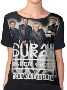 Duran Duran Paper Gods Chiffon Top