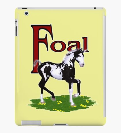 Foal iPad Case/Skin