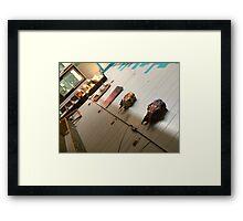Johnny's perspective  Framed Print