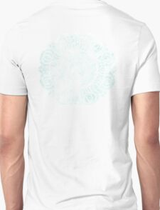 White Lotus Symbol Unisex T-Shirt