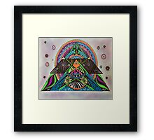 Meandering Framed Print