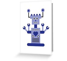 a humanoid 2 Greeting Card
