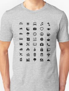 Travel Icon for World Travellers T-Shirt