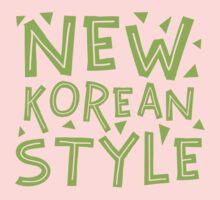NEW KOREAN STYLE Kids Tee