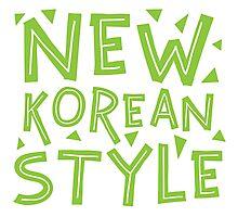 NEW KOREAN STYLE Photographic Print