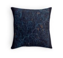 USGS TOPO Map Connecticut CT Gilead 331030 1892 62500 Inverted Throw Pillow