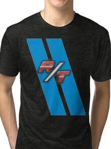 R/T Blue Tri-blend T-Shirt