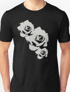 Grey Study of the Orange Rose Unisex T-Shirt