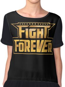 WWE Takeover Fight Forever Chant Chiffon Top