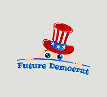 Future Democrat Womens Fitted T-Shirt