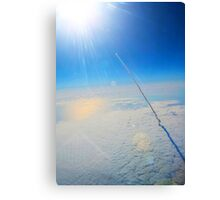 Large Endeavour's Final Voyage To Space, galaxy, world, flight, Print Poster Art Canvas Print