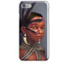 African Tuareg iPhone Case/Skin