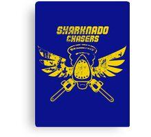 Sharknado Chasers Canvas Print