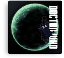 Doctor Who Slogan 2 Canvas Print