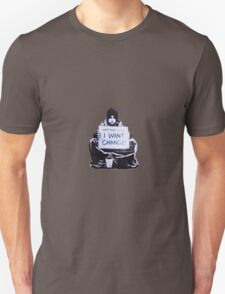 Banksy: Change Unisex T-Shirt