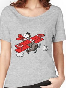 red baron Women's Relaxed Fit T-Shirt