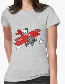 red baron Womens Fitted T-Shirt
