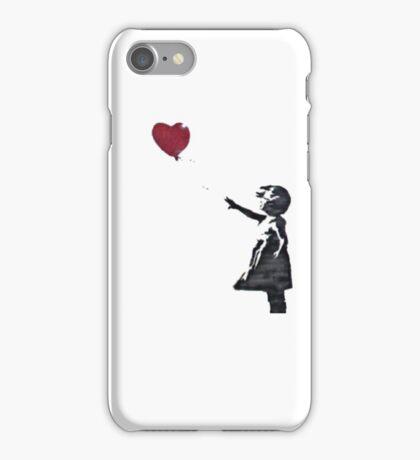 Banksy: Ballon Girl iPhone Case/Skin