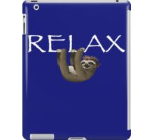 Relax Sloth iPad Case/Skin