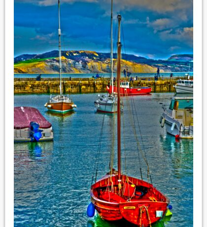 Harbour HDR Sticker