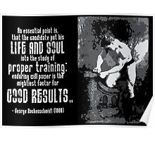 GOOD RESULTS Poster