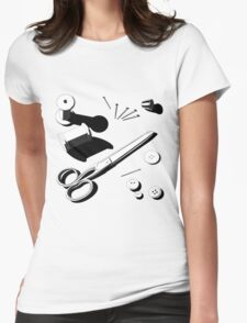 Needlework Womens Fitted T-Shirt