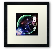 Doctor Who Slogan 3 Framed Print