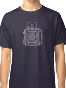 Vintage Photography - Graflex Blueprint Classic T-Shirt