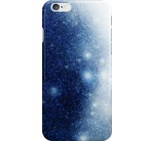 Space background with a planet iPhone Case/Skin